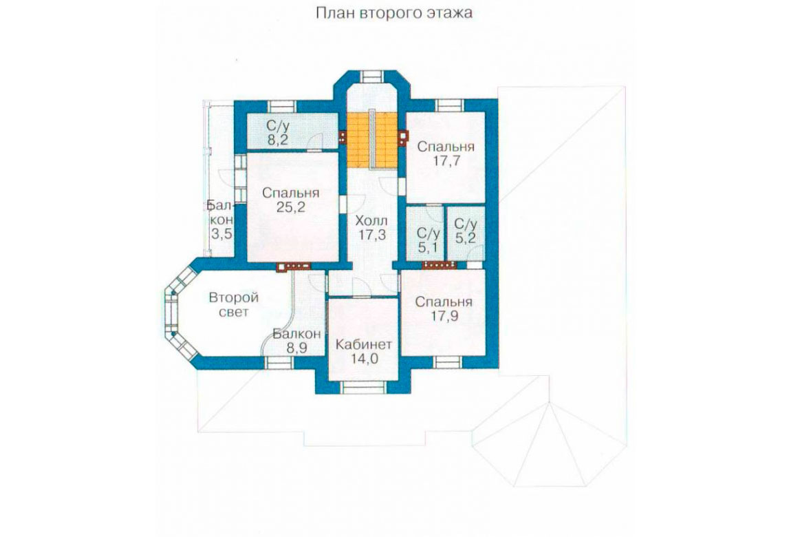 План N3 проекта ВИП дома АСД-1099