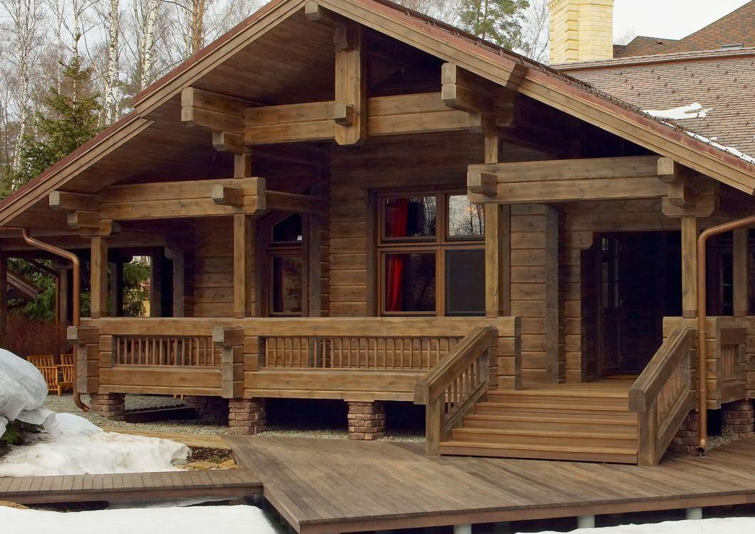 Проекты домов из клееного бруса в Краснодаре: фото и цены