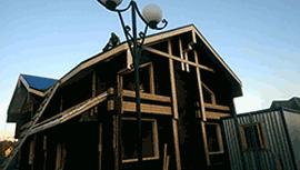Строительство дома из профилированного бруса в Клину