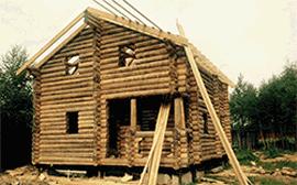Строительство дома из оцилиндрованного бревна в Волоколамске
