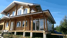 Дом из клееного бруса в Раменском районе