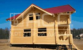 Дом из бревен в Раменском
