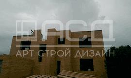 Строительство дома из газобетонных блоков в Южном Бутово
