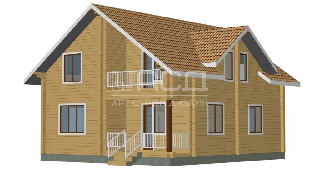Проектные работы по дому из клееного бруса - 1