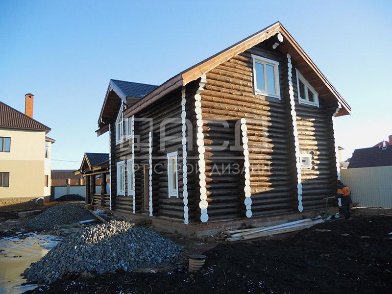 Бревенчатый дом в Жуковском