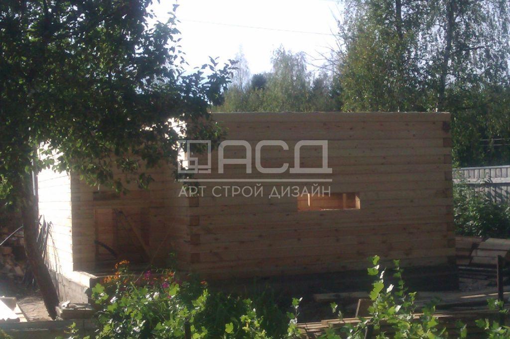 Строительство бани в деревне Головково