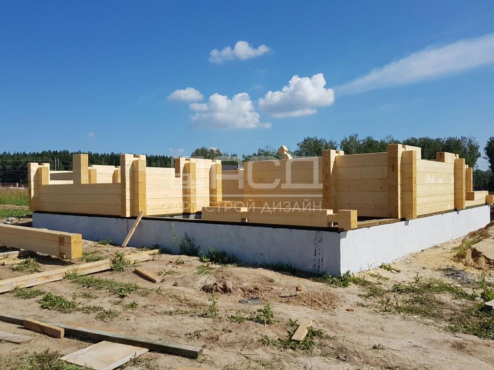 Дом из клееного бруса в Тульской области