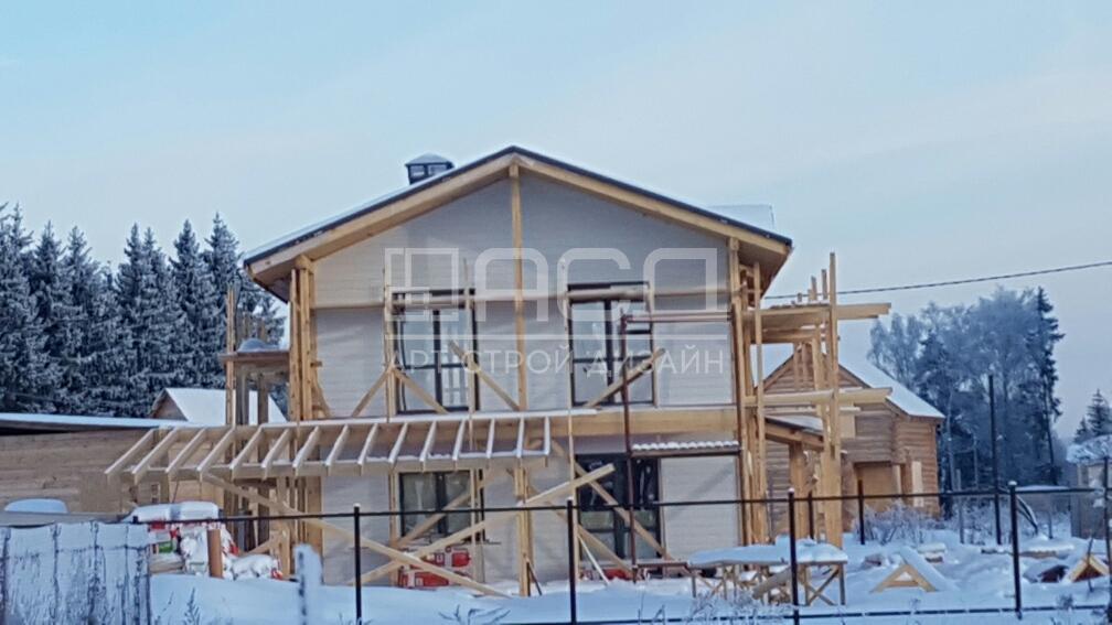 Каркасно-щитовой дом в поселке Истра Холидей