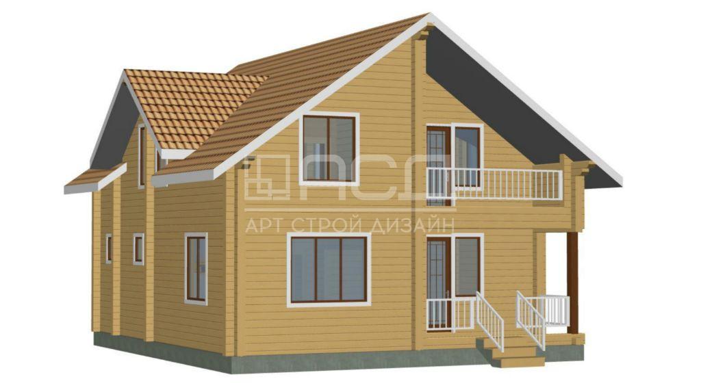Проектные работы по дому из клееного бруса - 4