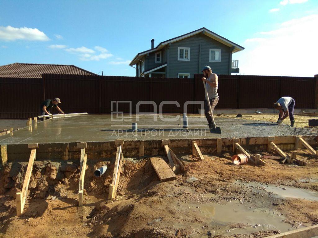 Строительство фундамента под гараж - 2