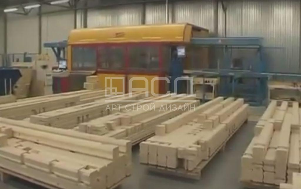 Производство клееного бруса - 12