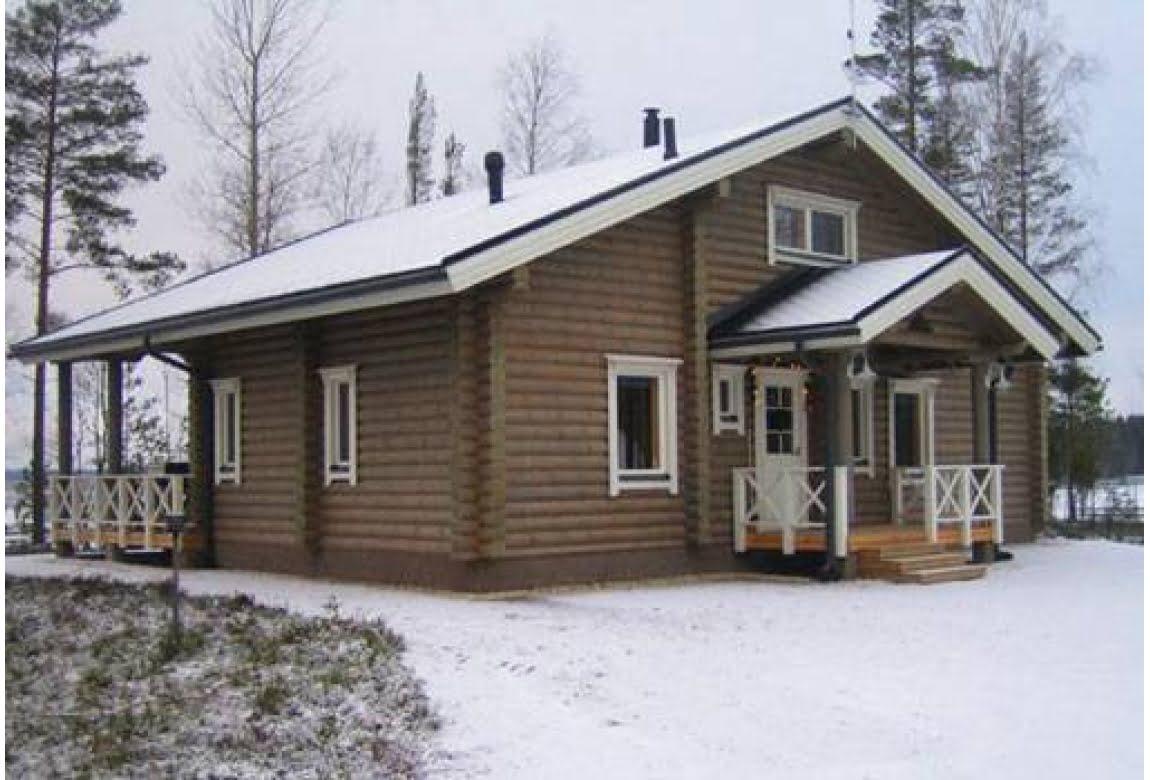 Проект дома из бревна О-140