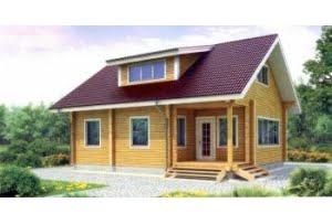 Деревянный дом 11-75