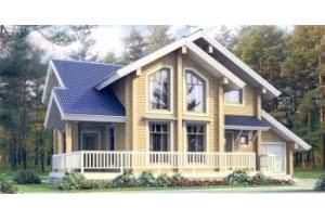 Деревянный дом 11-06
