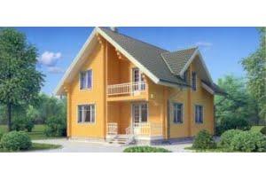Деревянный дом 11-71