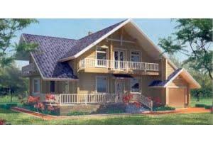 Деревянный дом 10-97