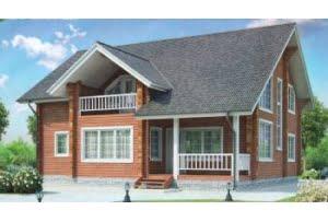 Деревянный дом 11-85
