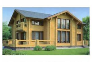Деревянный дом 11-67
