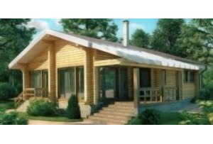 Проект каркасного дома 11-61