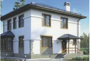 Проект каркасного дома 55-60