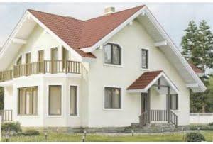 Проект каркасного дома 58-70