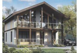 Проект каркасного дома 56-49
