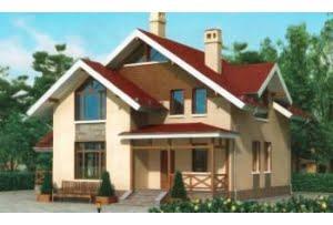 Проект каркасного дома 54-61