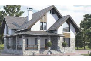 Проект каркасного дома 55-91