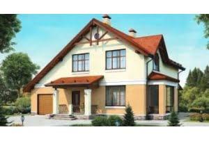 Проект каркасного дома 55-14