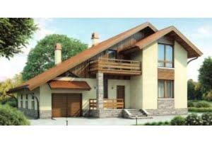 Проект каркасного дома 55-11