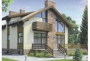 Проект каркасного дома 56-64