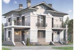 Проект каркасного дома 56-67