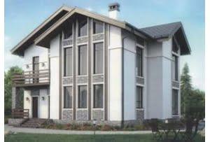 Проект каркасного дома 56-33