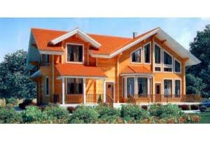 Проект каркасного дома 11-70