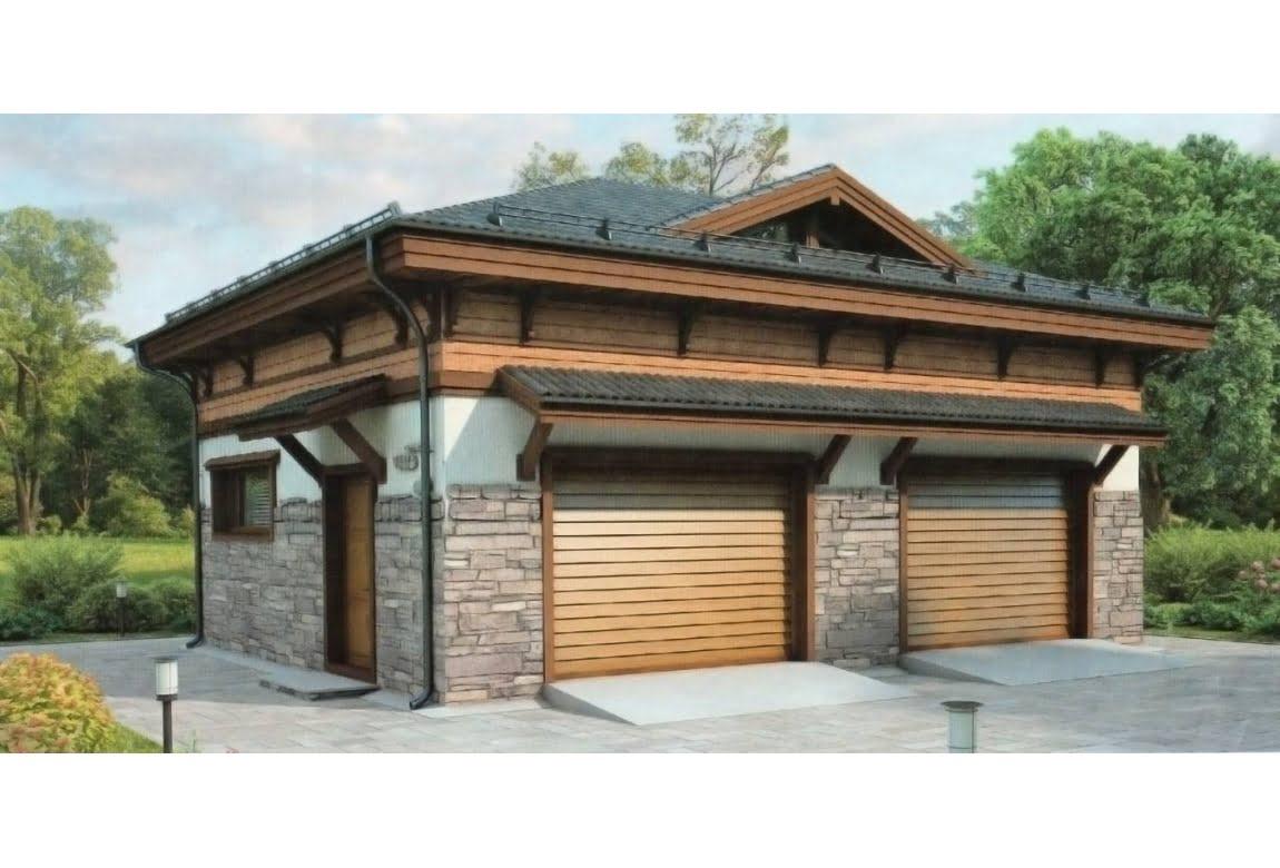 Проект гаража 38-18
