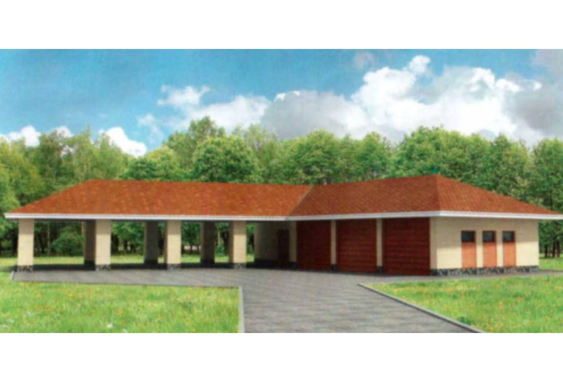 Проект гаража 90-02