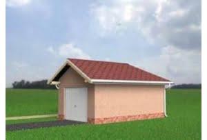 Проект гаража №19