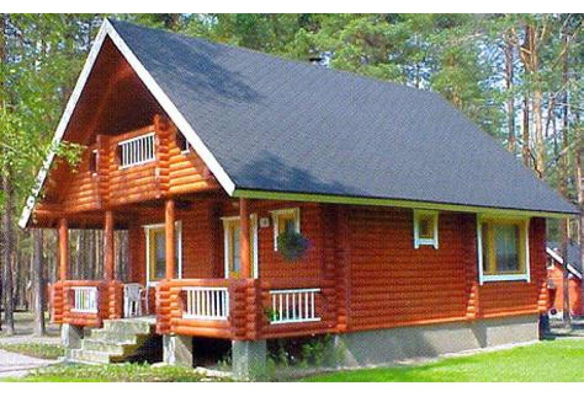Дом из оцилиндрованного бревна DD2-419