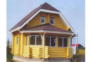 Проект дома из бревна DD3-113