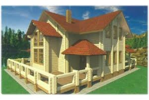 Проект дома из клееного бруса Жемчужина