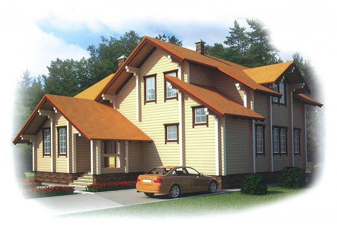 Деревянный дом Сбаро