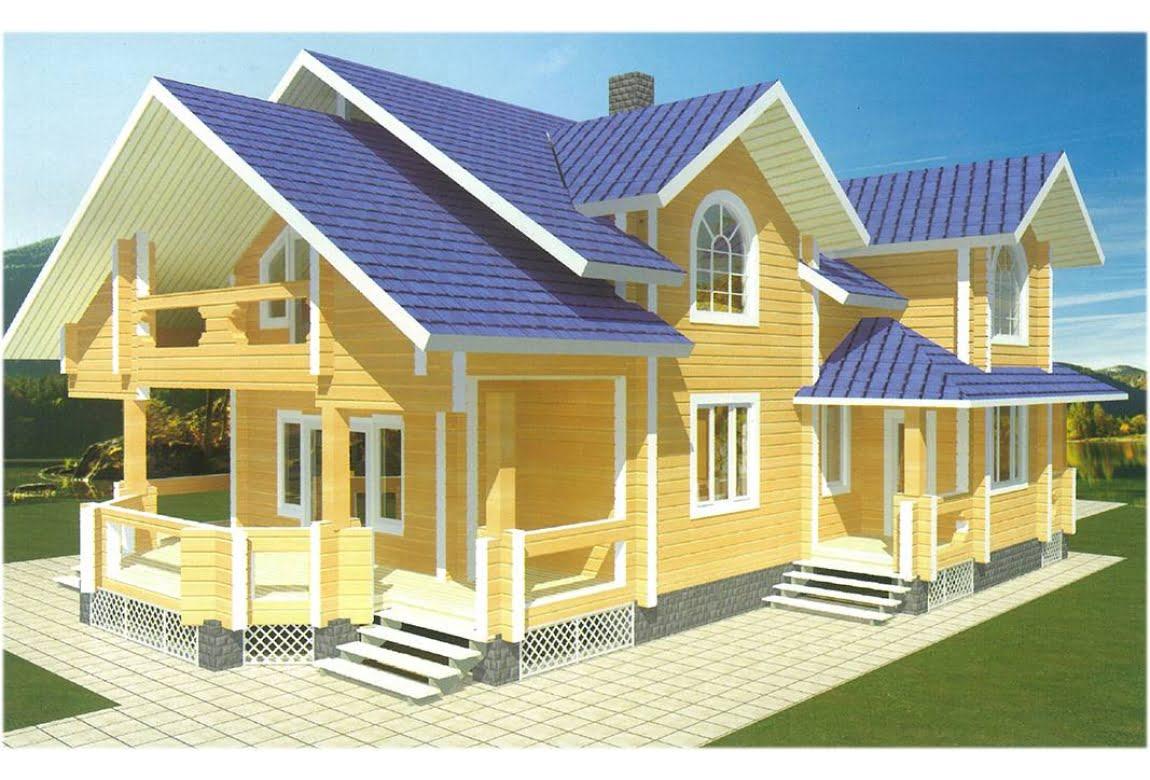 Деревянный дом Хризолит
