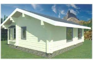 Проект дома из клееного бруса Циркон