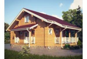 Дом из клееного бруса Авиньон