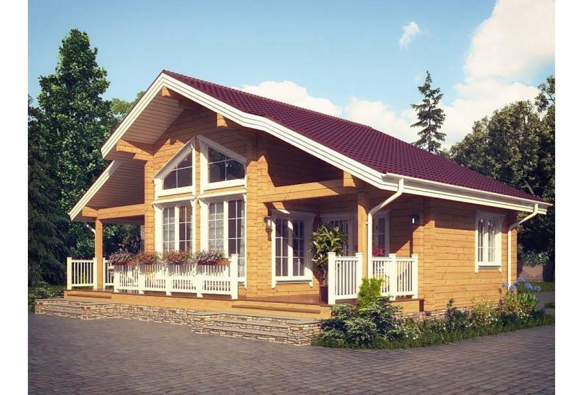 Проект дома из клееного бруса Авиньон