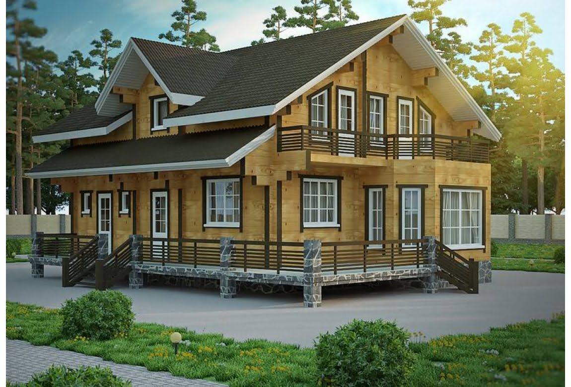 Деревянный дом Вена
