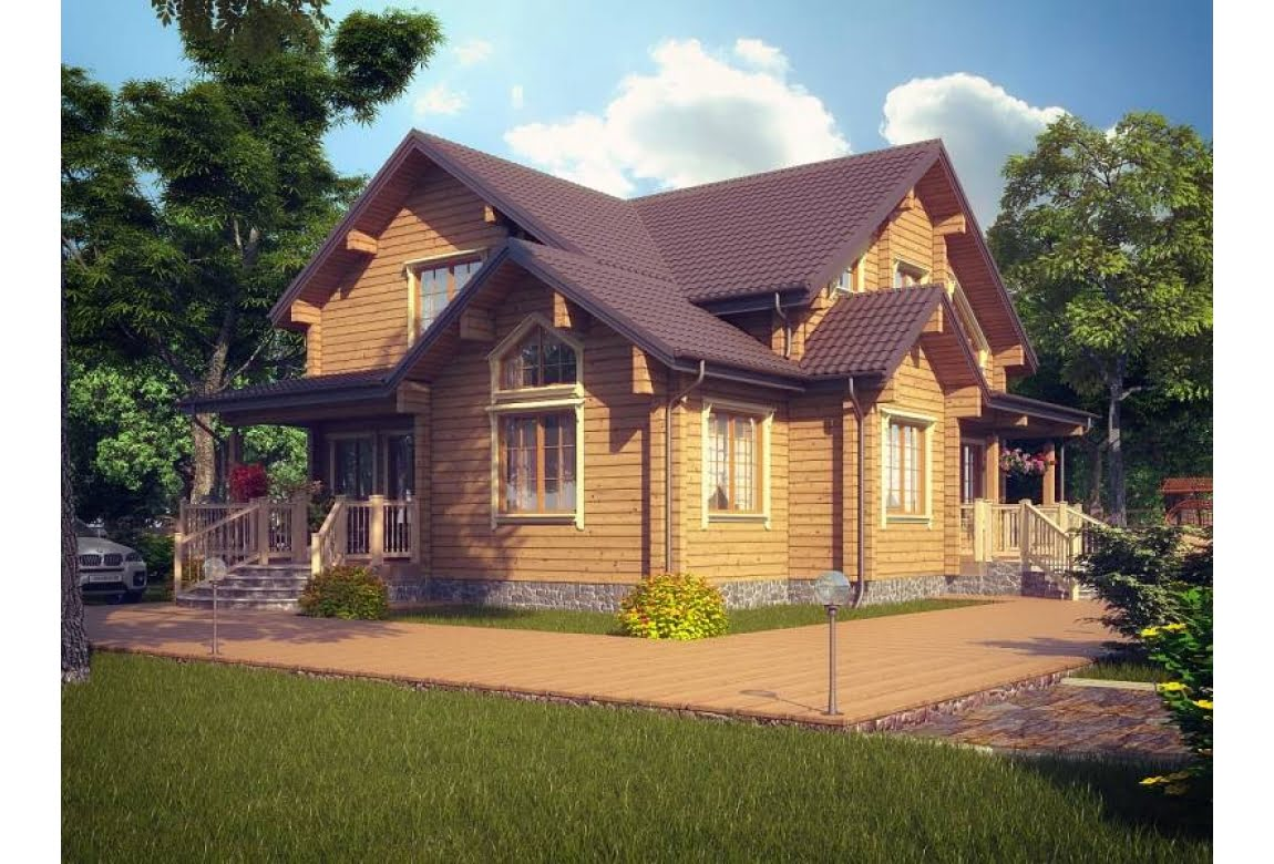 Деревянный дом Верона