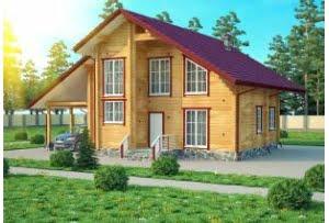 Деревянный дом Галеон