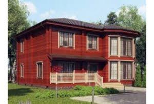 Деревянный дом Канны