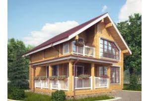 Дом из профилированного бруса Кедар